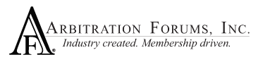 Arbitration Forums Logo