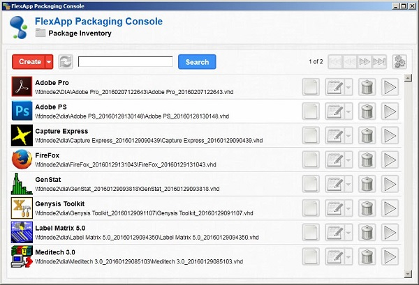 Liquidware Labs FlexApp Packaging Console