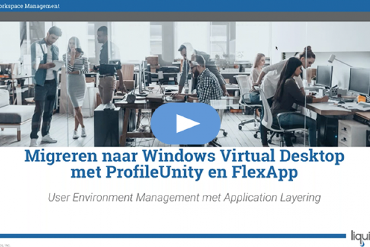 Migreren naar Windows Virtual Desktop met ProfileUnity en FlexApp