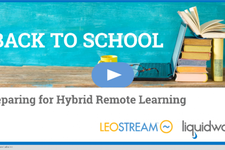 Back to School: Preparing for Hybrid Remote Learning