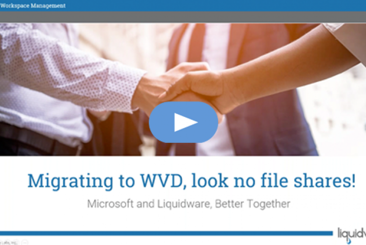 Migrating to WVD: Look, No File Shares!