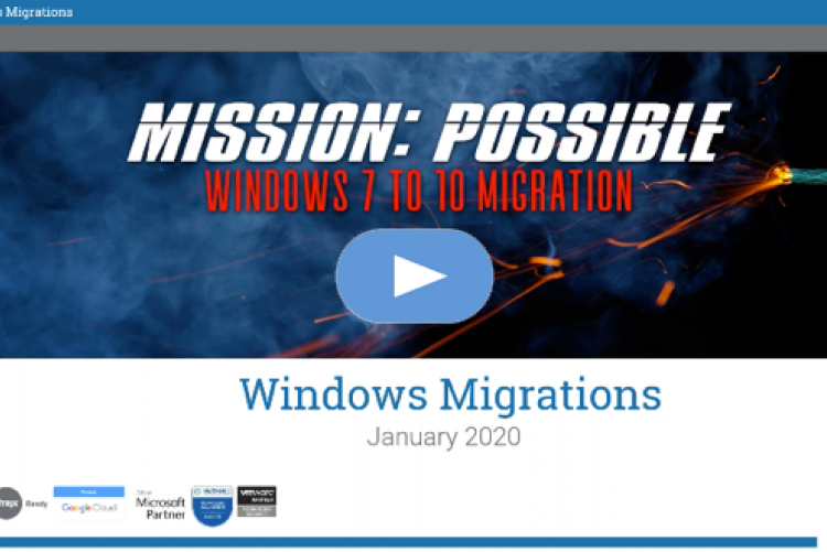 Mission Possible: Windows 7 to 10 Migration