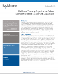 Childrens Therapy Center PDF