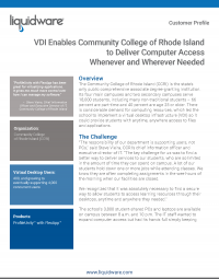 Community College of Rhode Island PDF