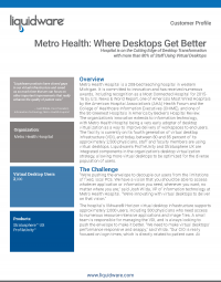 Metro Health Hospital PDF