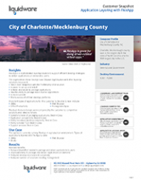 County of Mecklenburg PDF