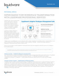 Professional Services Workspace Transformations