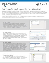 Stratusphere UX Power BI Brochure