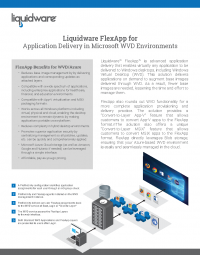 Microsoft WVD FlexApp Solution Brief