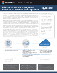 Liquidware Microsoft WVD Joint Solutions Brief
