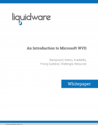 Introduction to Microsoft WVD